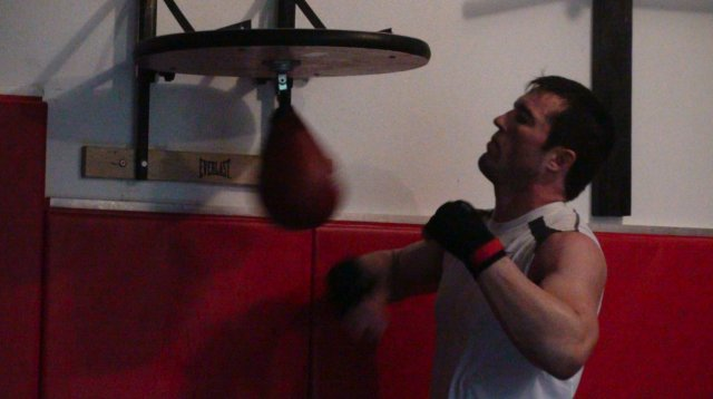 Chael Sonnen Boxing Workout
