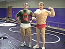 Quail Man and Muscle Man