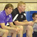 Coah Hawald and Coach Eslich
