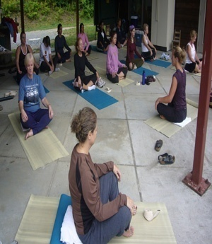 yoga ladies