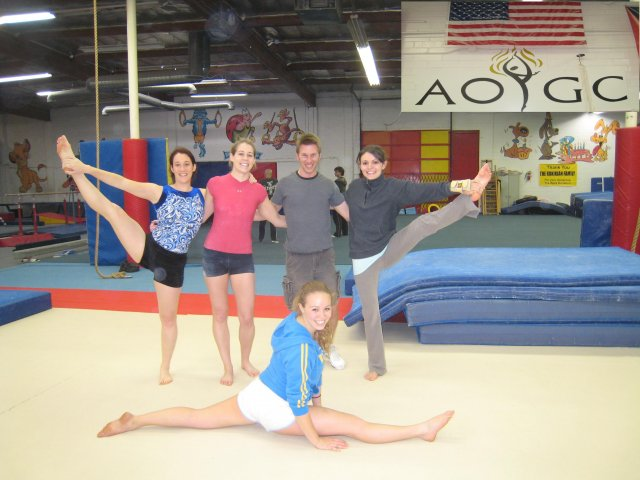 Photoalbum: Photos from adult gymnastics classes around the co