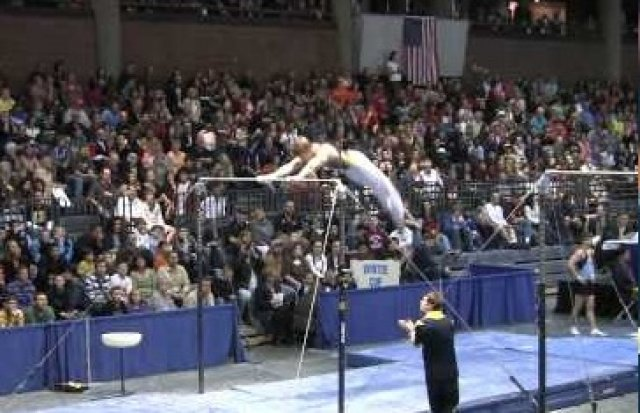 Ian Makowske - High Bar - 2011 Winter Cup Finals - new skill!