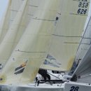 Melges 24 Starting Action