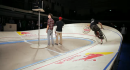 World's smallest velodrome - Red Bull Mini drome - London