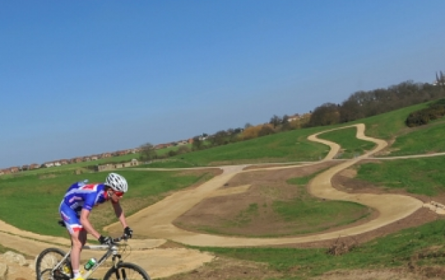 Helmet-Cam: London 2012 Olympics mountain bike course