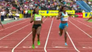 Bianca Knight wins 200m - Diamond League London 2011