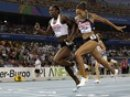 Amantle Montsho edges Allyson Felix for 400m gold = 2011 Track &amp; Field Worlds