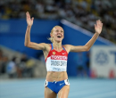 Yuliya Zaripova wins steeplechase gold - 2011 Track &amp; Field Worlds