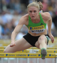 Sally Pearson wins 100m hurdles - 2011 Diamond League Zurich