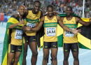 Jamaica wins men&#039;s 4x100m - 2011 Diamond League Zurich