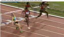 Danielle Carruthers wins 100m Hurdles, Pearson crashes - 2011 Diamond League Brussels: