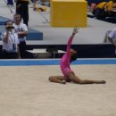Gabrielle Douglas on Floor