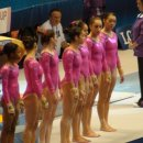 USA World Team lined up for Vault
