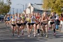 Jackie Areson wins women's elite 5k at Silicon Valley Turket Trot 2011