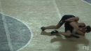 Brandon Keller of Timber Creek pins Shane Phillips of The Kiski School, Beast of the East Round 1