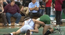 Travis Vasquez of Delbarton defeats Michael Russo of St. Peters, Mustang Classic 106lb semis