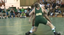 Christian Innarella of Delbarton defeats Joe Ghione of Brick Memorial to win the Mustang Classic at 113lbs