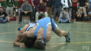 Frank Colom of St. Peters Prep defeats Mike Patterson of St. Augustine to win the Mustang Classic at 152lbs