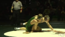 Tyler Hunt of South Plainfield pins Peter Hilburn of St. Peters Prep in 38 seconds, 138lbs