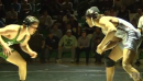 Corey Stasenko of South Plainfield defeats Lenny Richardson of St. Peters Prep at 145lbs