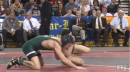 Scott DelVecchio, South Plainfield pins Jason Estevez, Livingston, 132lb state tournament semis