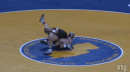 Alexander Richardson of St. Peter's Prep pins Ken Theobold of Toms River South, 145lb final