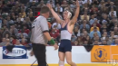 Ryan Harrington of Mendham defeats Steve Nelson of Haddon Twp., 170lb state tournament finals
