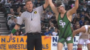 Anthony Ashnault of South Plainfield defeats Gary Dinmore of Hunterdon Central, 126lb state tournament finals