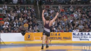 Brandon Hull of Phillipsburg defeats Lex Knapp of Lacey, 220lb state tournament finals
