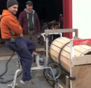 Bike Powered Carrot Washer