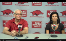 Arkansas Head Coaches Mark and Rene Cook on Hosting Regionals