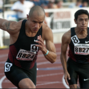 Leo Jacob and Kyle compete at Texas Relays
