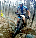 Pro Men Leaders on &quot;Run Up&quot; Lap One Hop Brook Dam Root 66 #1
