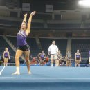 LSU on floor