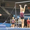Megan Ferguson at ncaa podium training