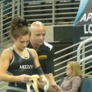 Rachel Updike of Missouri and 2012 NCAAs