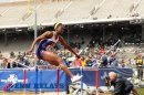 LSU 1st Place College Women's Shuttle Hurdles Championship of America