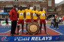 Wolmer's Boys 1st Place (40.34) High School Boys' 4x100 Championship of America