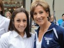 Jordyn Wieber and her mom on the Today Show