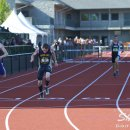 2012 Oregon Twilight Meet: Dylan Seitz Beats Miles Timpe to the Finish Line in the 400 Meter Hurdles