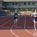2012 Oregon Twilight Meet: Gianna Woodruff Edges Alyssa Turner to Win the 400 Meter Hurdles