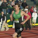2012 Oregon Twilight Meet: Andrew Wheating, Winner of the 1500 Meter