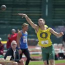 2012 Pac-12 Decathlon: Alec Fellows, 8th Overall, in the Shot Put