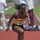 2012 Pac-12 Heptathlon: Cristabel Nettey, 15th Overall, in the High Jump