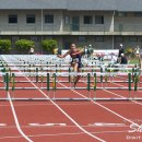 2012 Pac-12 Heptathlon: Brianne Beemer (4th Overall) Wins Heat 5 of the 100 Meter Hurdles