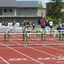 2012 Pac-12 Heptathlon: Liana Fuentes (6th) Wins 3rd Heat of 100 Meter Hurdles