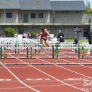 2012 Pac-12 Heptathlon: Tatum Souza (5th Overall) Wins 2nd Heat of 100 Meter Hurdles