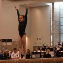Norah Flatley on beam