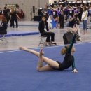 Rachel Gowey of Chow s on floor at 2012 Nationals