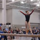 Syndey on Beam at 2012 Nationals